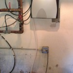 """Added a Kinetico """"K5 drinking water station"""" to there 32 year old system."""
