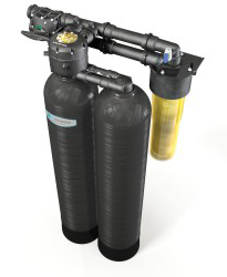 Kinetico Premier s250 water softener unit.