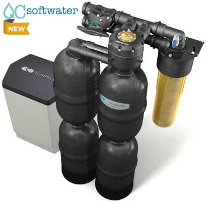 The Kinetico Premier series water softener.