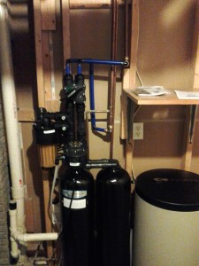 Kinetico's residential water softener, model s250 installed in Eastern Iowa.