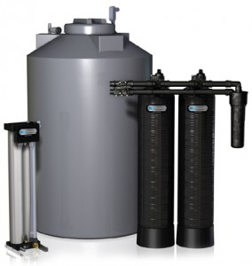 Ro whole house membrane saltless water system