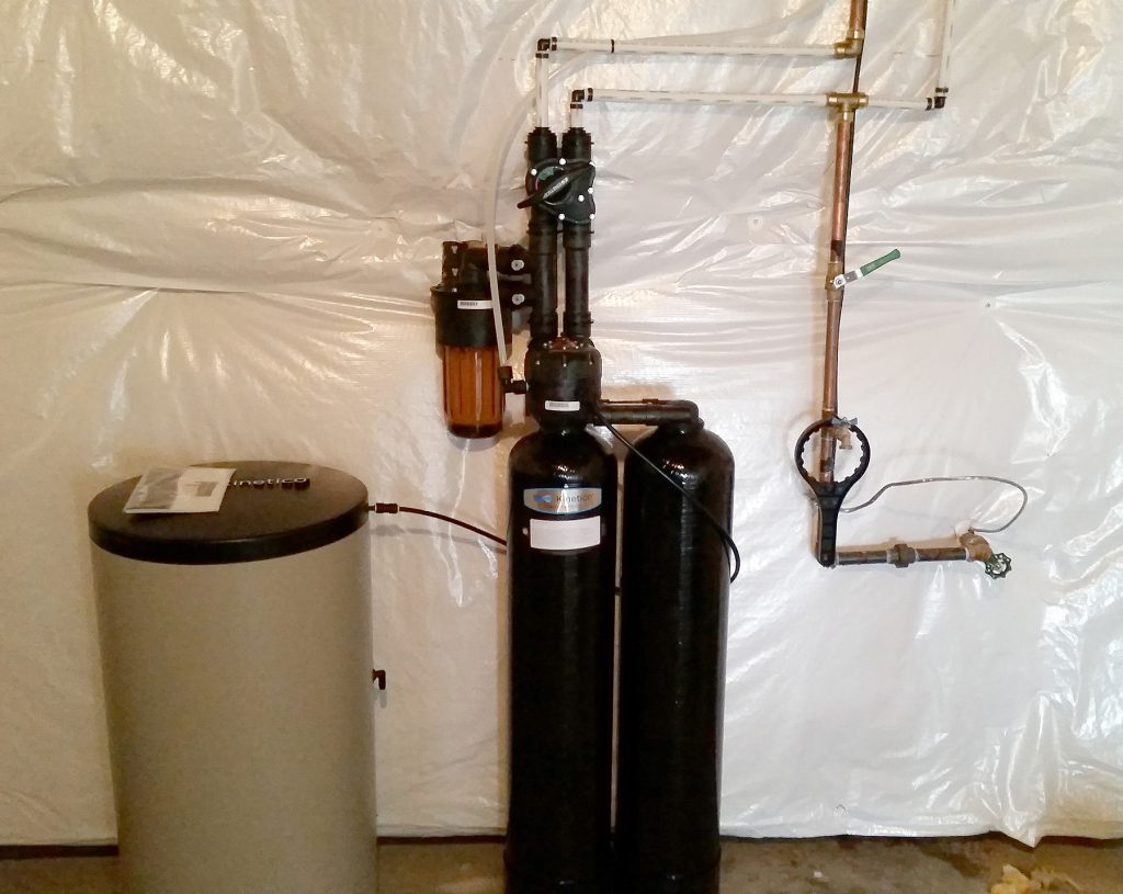 Kinetico S Water Treatment System Installed In Port Byron Il