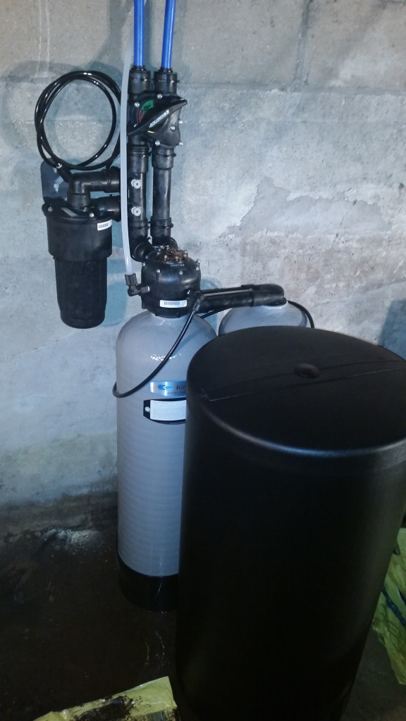 Kinetico water softener installed in Erie, Illinois