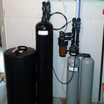 Whole house water treatment system in Bettendorf, Iowa.