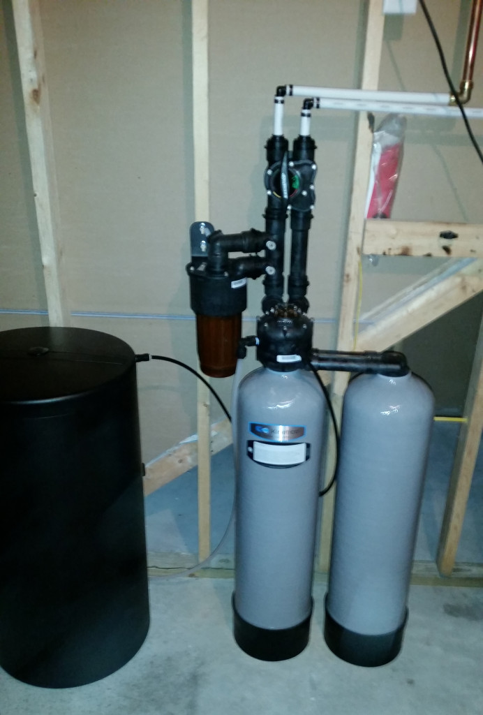 Installation of a new Kinetico system in Port Byron, Illinois