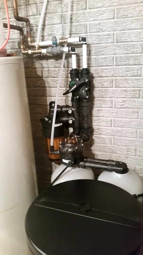 Kinetico Water Softener installed in Savanna, Illinois