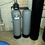 New Kinetico water softener installed in Leclaire, Iowa