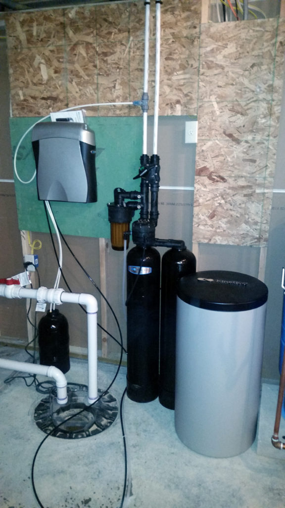 Kinetico water softener and drinking water system installed in Bettendorf, Iowa