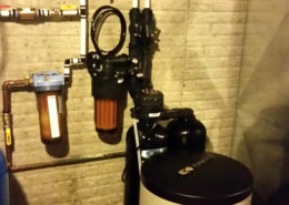 QC Soft Water installes a Kinetico water softener in Muscatine, Iowa