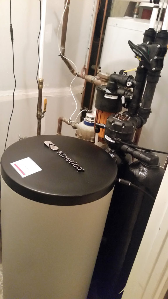 Another Kinetico softener installed in Bettendorf, Iowa