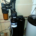 A new Kinetico softener installed in Bettendorf