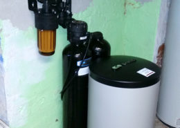 A new Kinetico softener system installed in Geneseo, Illinois