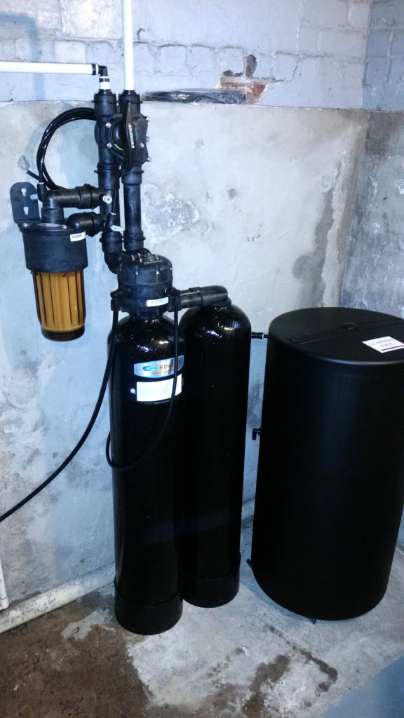 Kinetico softener installed in Geneseo, Illinois