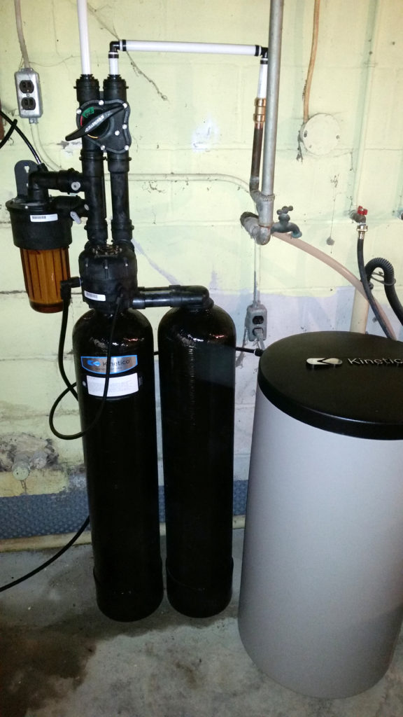 Upgraded Kinetico water softener in Buffalo Prairie, Illinois