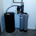 Another new Kinetico water softener installed in Davenport, Iowa