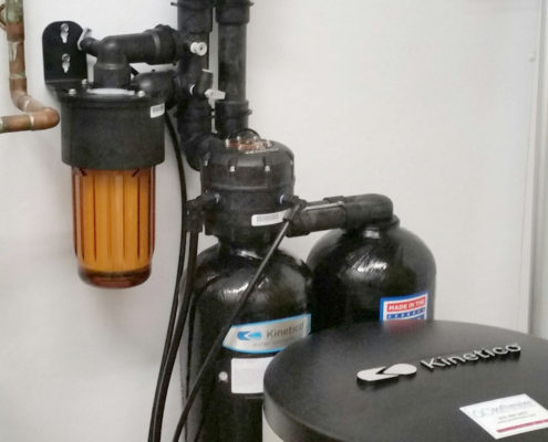 Bison Ridge Kennels in Blue Grass, Iowa Kinetico water softener