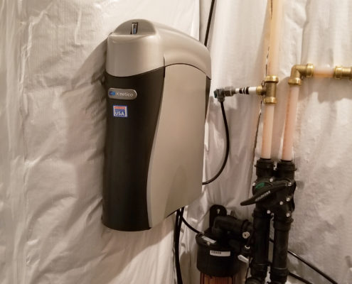 Kinetico reverse osmosis system with the Arsenic Guard filter