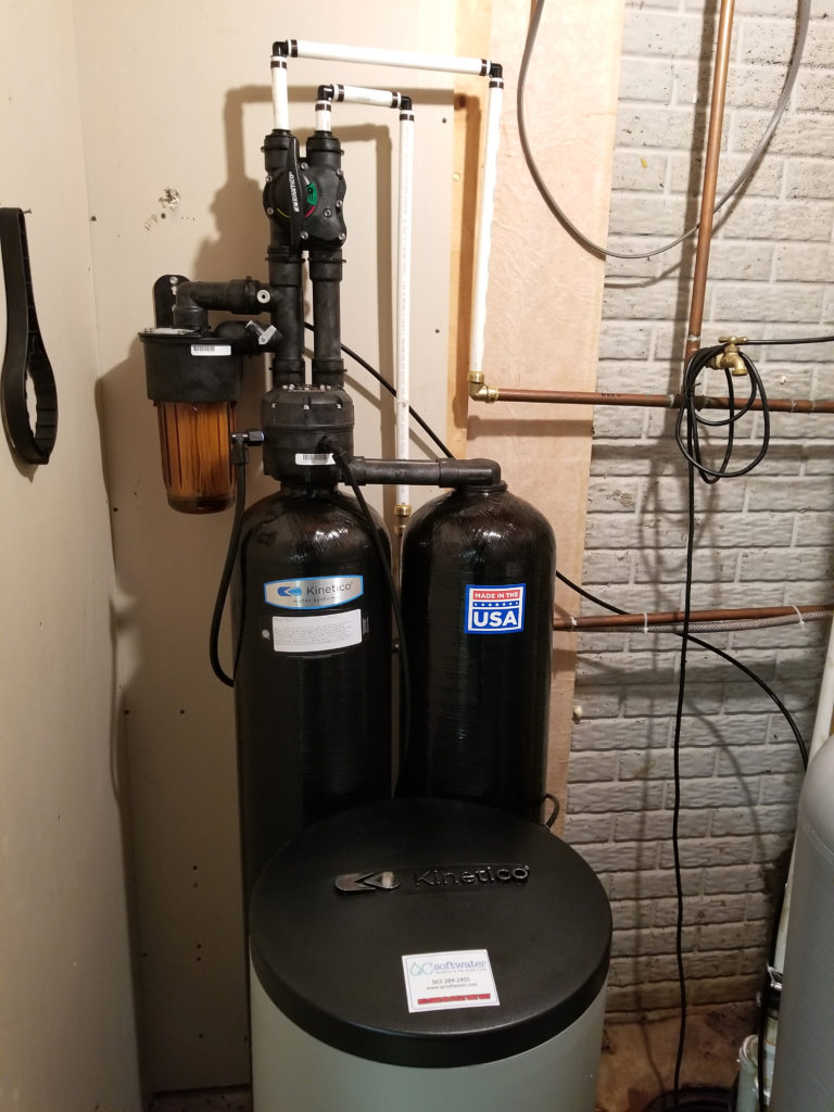 Kinetico Water System Replaces A 3 Year Old Culligan That