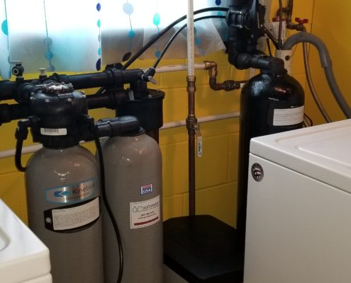 Chlorine free soft water provided by Kinetico in Andalusia, Illinois
