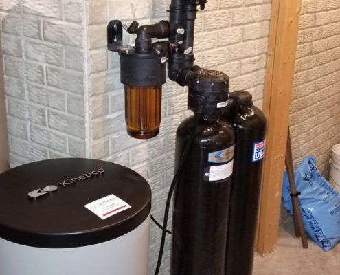 A new softener for the new year in Blue Grass, Iowa