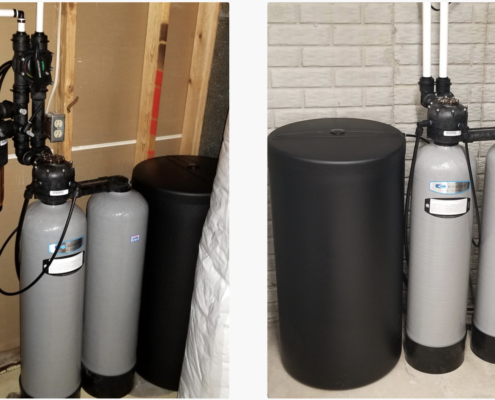 BROTHERS IN DONAHUE, IOWA GET PURE WATER WITH A KINETICO WATER SOFTENERS