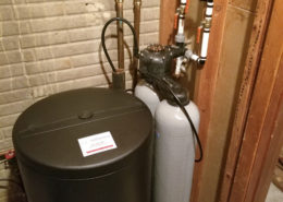 Out with the old...in with a new Kinetico water softener in Davenport, IA