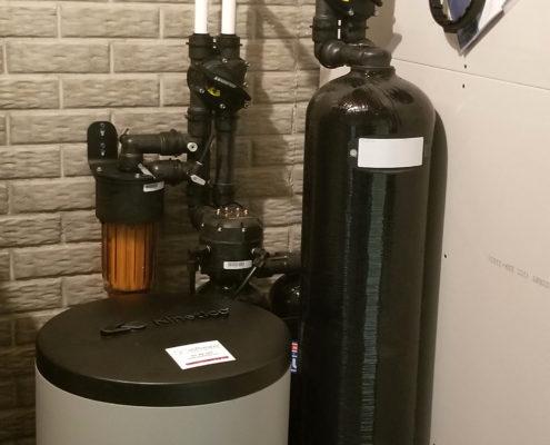 Whole house water treatment on Bettendorf, Iowa