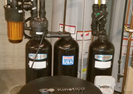 Chlorine removal with a Kinetico water softener