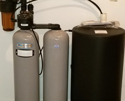New Kinetico water softener in Port Byron, Illinois