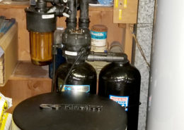 Customer in Coal Valley, Illinois just upgrades his 30 year old Kinetico water softener