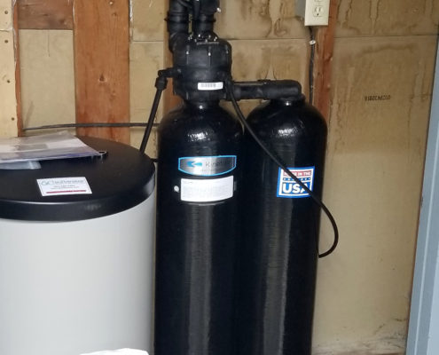 We installed one Kinetico water softener to replace three water systems by another brand