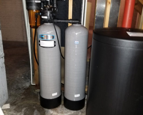 Another Kinetico soft water in Blue Grass, Iowa