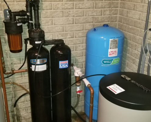 Sediment filter and Kinetico water softener is all you need in Colona, Illinois