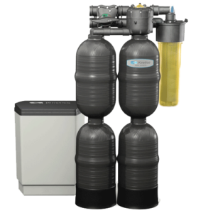 The Kinetico series water softener.