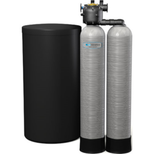 The Kinetico signature series water softener.